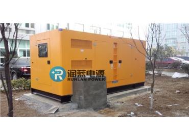 安徽省外包产业园300KW康明斯发电机组