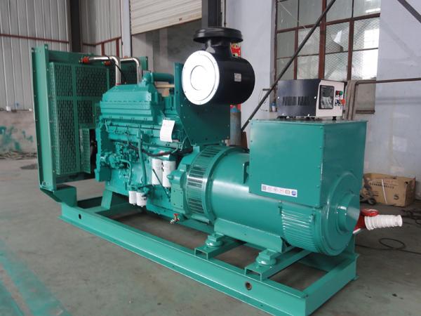 关于润蓝柴油发电机组的安装流程介绍